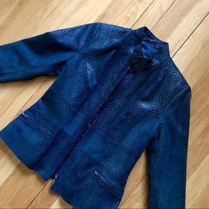 Alfani Genuine Leather Jacket